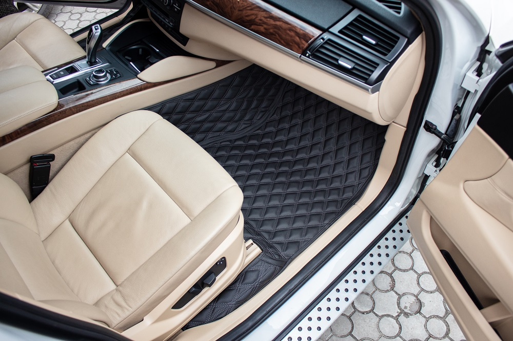 clean car interior